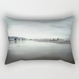 At the Edge Rectangular Pillow