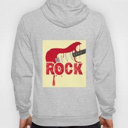 Melting Electric Rock Guitar Hoody