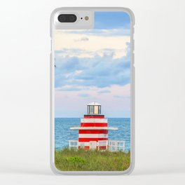 Miami Beach, Florida Clear iPhone Case