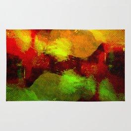 Abstract Terror Rug
