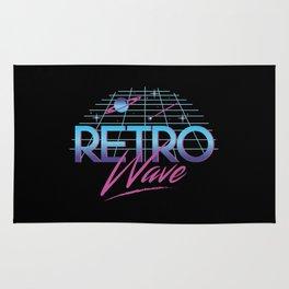 Retro Wave Under The Stars Rug