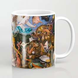 The Fall Of The Rebel Angels 1562 By Pieter Bruegel The Elder Coffee Mug