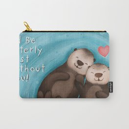 Otterly in Love Carry-All Pouch