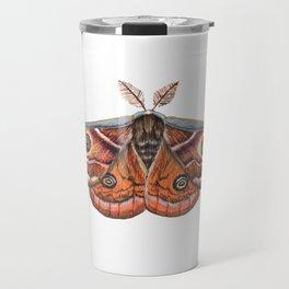Small Emperor Moth (Saturnia pavonia) Travel Mug