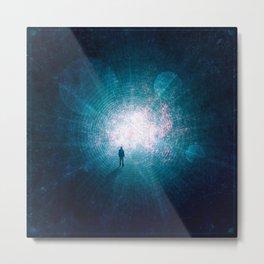 Lightwaves Metal Print