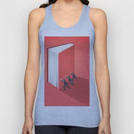 BANNED BOOKS Unisex Tank Top
