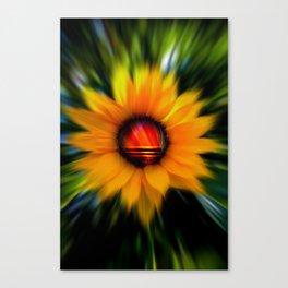 Sunflower -sunse Canvas Print