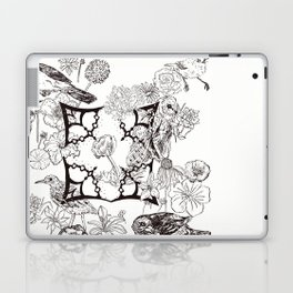 Floral Interlude Laptop & iPad Skin