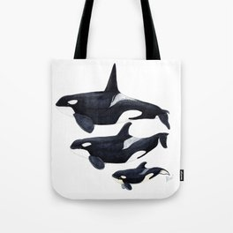 Orca (Orcinus orca) Tote Bag