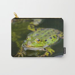 Green European Frog Carry-All Pouch