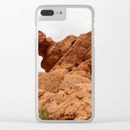 Elephant Rock - Valley of Fire Clear iPhone Case