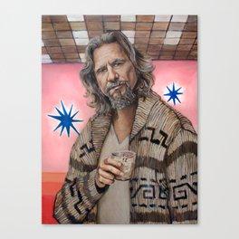 The Dude / The Big Lebowski / Jeff Bridges Canvas Print
