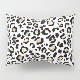 Leopard Animal Print Watercolour Painting Pillow Sham