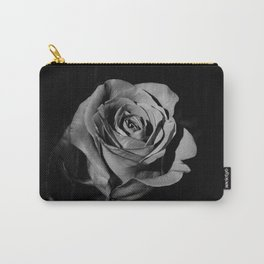 Rose B&W Carry-All Pouch