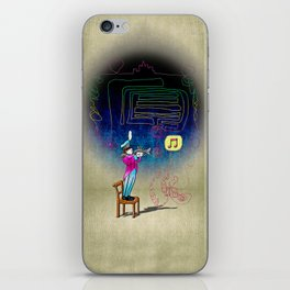 Make your own kind of music! iPhone Skin