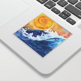 Ocean Wave Sticker