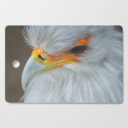 Feathers and eyelashes Cutting Board