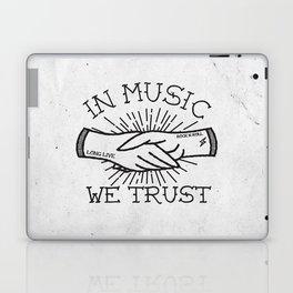In Music We Trust Laptop & iPad Skin