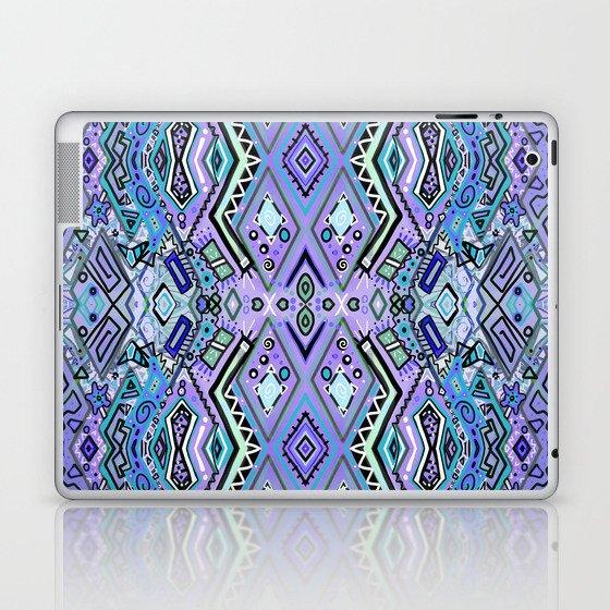 Blue Diamonds Laptop & iPad Skin