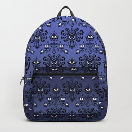 Owl Ghost and Cyclops Monster Pattern Art Backpack