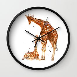 Watch Over Me Wall Clock