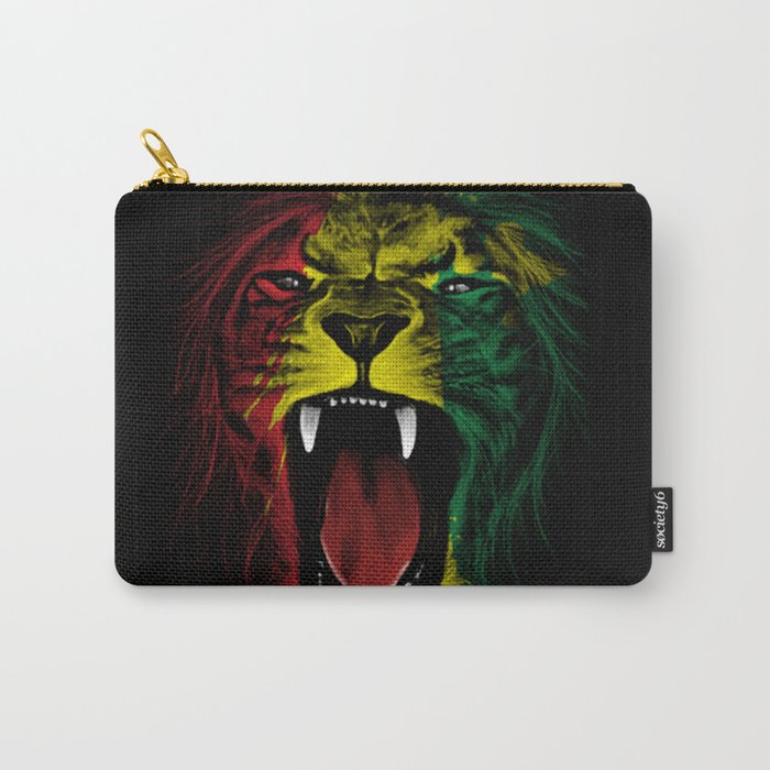 Rasta Roar Carry-All Pouch