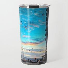 Seattle Summer Sunset Travel Mug