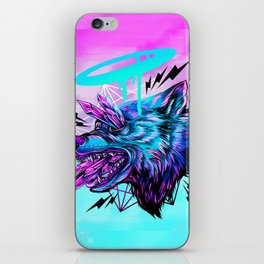 Crystal Wolf iPhone Skin