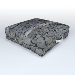 Dry stone wall Outdoor Floor Cushion