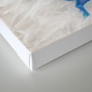 Geode Slice Closeup Canvas Print