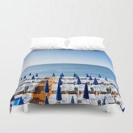 Morning Beach Duvet Cover