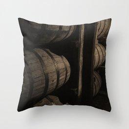 Bourbon Barrels Kentucky Photo Throw Pillow