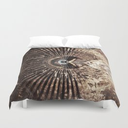 Geometric Art - WITHERED Duvet Cover