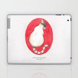 Haruki Murakami's Kafka on the Shore Watercolor Illustration Laptop & iPad Skin