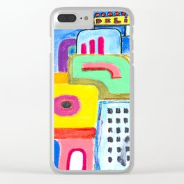 City Lovers Clear iPhone Case