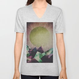 Top of the mountain Unisex V-Neck