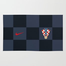Croatia Away Jersey 2018 Rug