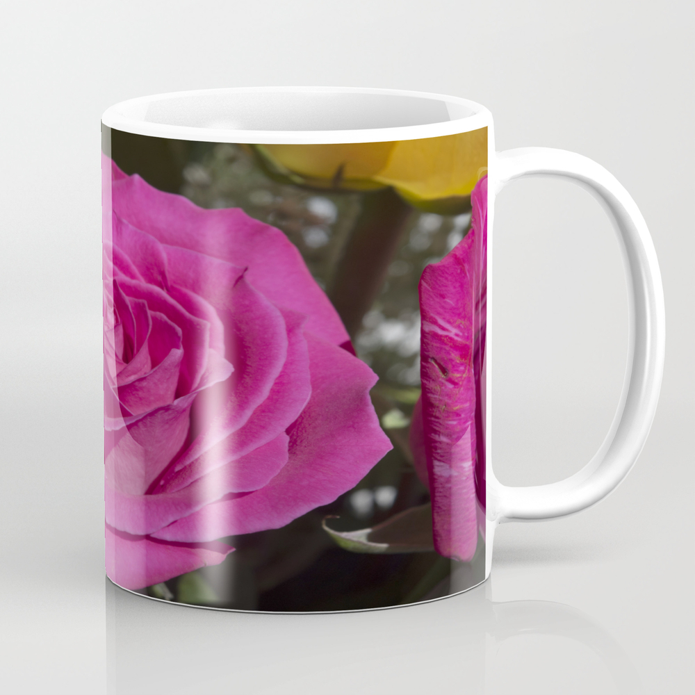 Valentine's Day Roses 28 Coffee Cup by Sarahshanely MUG8852207