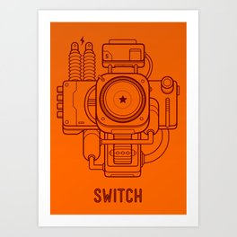Switch Art Print