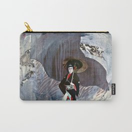 Out of the Cave, Into the Storm, the Hero Prepares for the Next Battle Carry-All Pouch