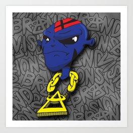 Alien Dude Art Print