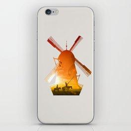 Fighting Giants (light version) iPhone Skin