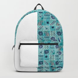 A Tile of Two Cities Backpack