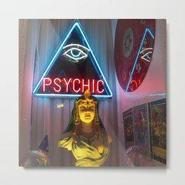 PSYCHIC Metal Print
