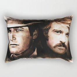 Butch and Sundance Rectangular Pillow