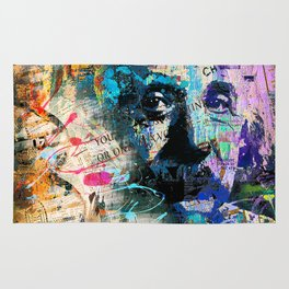 Artistic OI  - Albert Einstein II Rug
