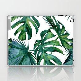 Classic Palm Leaves Tropical Jungle Green Laptop & iPad Skin