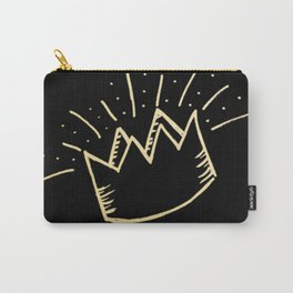 proud crown (gold/black) Carry-All Pouch