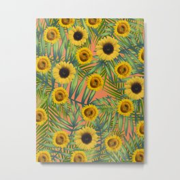 Sunlowres Party #1 Metal Print