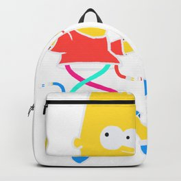 Mr.Flanders' hot chocolate Backpack